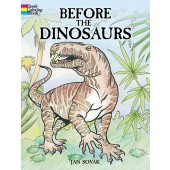 Before the Dinosaurs Coloring Book