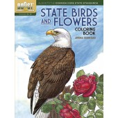 BOOST State Birds and Flowers Coloring Book