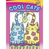 SPARK Cool Cats Coloring Book