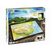 4D Cityscape Ancient China Puzzle