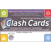 Latin Clash Cards - Latin for Children, Primer B - Classical Academic Press