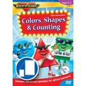Rock N Learn Colors, Shapes, and Counting DVD