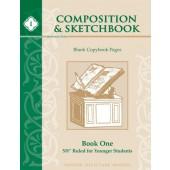 Composition & Sketchbook I: 5/8″ Ruled for Younger Students