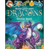 Usborne Build Your Own Dragons Sticker Book