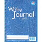 "Zaner-Bloser Writing Journal 1/2"" ruling Grades 2-3 - Liquid Color Light Blue"