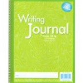 "Zaner-Bloser Writing Journal 3/8"" ruling Grades 4-Up - Liquid Color Green"