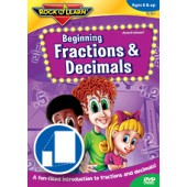 Rock N Learn Beginning Fractions and Decimals DVD