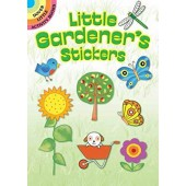 Little Gardener's Stickers (Dover Little Activity Books Stickers)