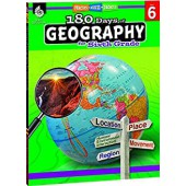 180 Days of Geography for sixth Grade - Teacher Created Materials