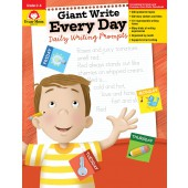 Giant Write Every Day  Daily Writing Prompts  Evan-Moor