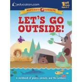 Let's Go Outside!: A workbook of plants, animals, and the outdoors