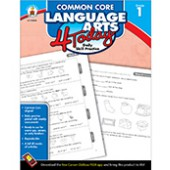 Common Core Language Arts 4 Today Workbook Grade 1