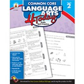 Common Core Language Arts 4 Today Workbook Grade 2
