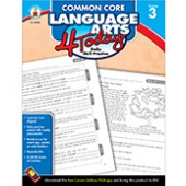 Common Core Language Arts 4 Today Workbook Grade 3