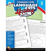 Common Core Language Arts 4 Today Workbook Grade 5