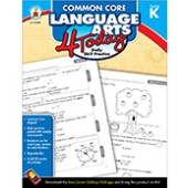 Common Core Language Arts 4 Today Workbook Grade K