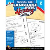 Common Core Language Arts 4 Today Workbook Grade K