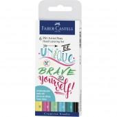 Pitt Artist Pen® Hand Lettering Set - Wallet of 6