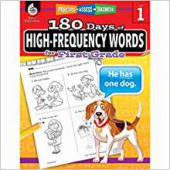 180 Days of High-Frequency Words for First Grade - Teacher Created Materials
