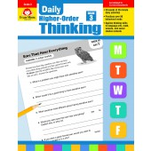 Evan-Moor Daily Higher-Order Thinking Grade 3