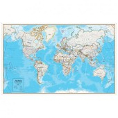 Contemporary Series World Wall Map