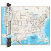 Contemporary Series United States Wall Map