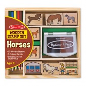 Horses Stamp Set - Melissa and Doug