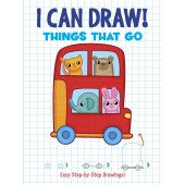 I Can Draw! Things That Go: Easy Step-by-Step Drawings - Dover