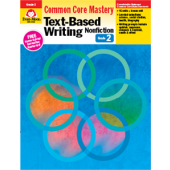 Text-Based Writing: Common Core Mastery, Grade 2