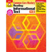 Reading Informational Text: Common Core Mastery, Grade 3