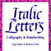 Italic Letters Calligraphy (Getty-Dubay)