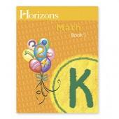 Horizons Math K Book 1