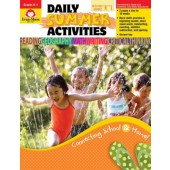 Daily Summer Activities, Between Kindergarten and 1st Grade Activity Book  Evan-Moor