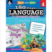 180 Days of Language for Fourth Grade – Teacher Created Materials