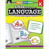 180 Days of Language for Kindergarten – Teacher Created Materials
