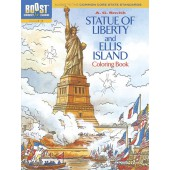 BOOST Statue of Liberty and Ellis Island Coloring Book