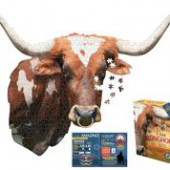 I AM Longhorn 550-Piece Puzzle