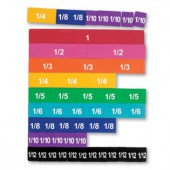 Soft Foam Magnetic Rainbow Fraction® Tiles