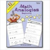 Math Analogies Beginning (Grades K-1) The Critical Thinking Company