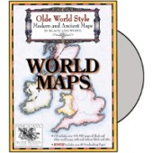 Olde World Style World Maps CD