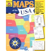 Maps of the U.S.A. Grades 1 - 6  Evan-Moor