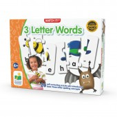Match It! 3 Letter Words - The Learning Journey