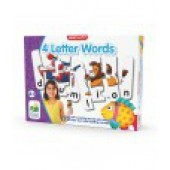Match It! 4 Letter Words - The Learning Journey