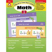 Follow Take It to Your Seat  Math Centers, Grade 1 Evan-Moor
