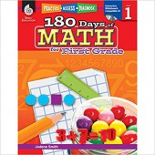 180 Days of Math for First Grade  - Teacher Created Materials