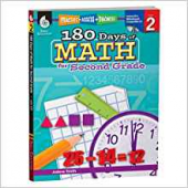 180 Days of Math for the Second Grade - Teacher Created Materials