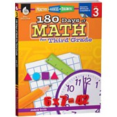 180 Day of Math for the Third Grade - Teacher Created MAterials