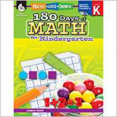 180 Days of Math for Kindergarten - Teacher Created Materials