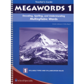 Megawords Book 1 Teacher's Guide, 2nd Edition