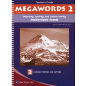 Megawords Book 2 Teacher's Guide, 2nd Edition